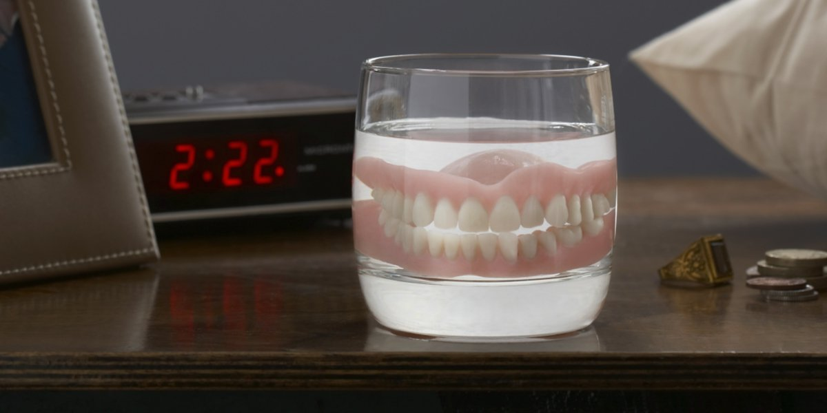 partial plate dentures