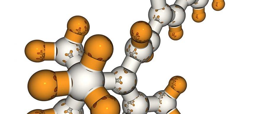 Molecular Model of Fluoride