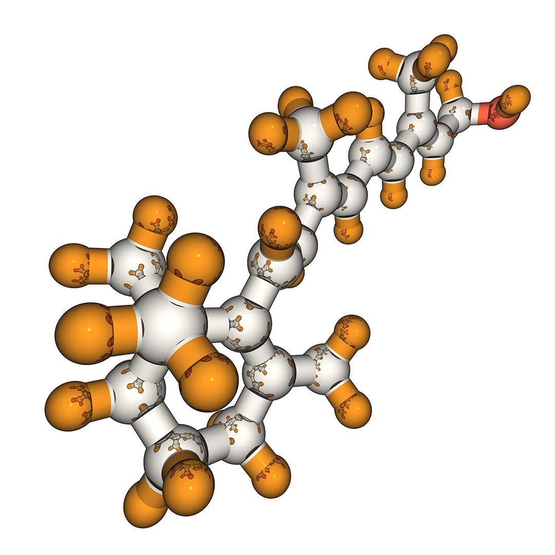Molecular Model of Fluoride