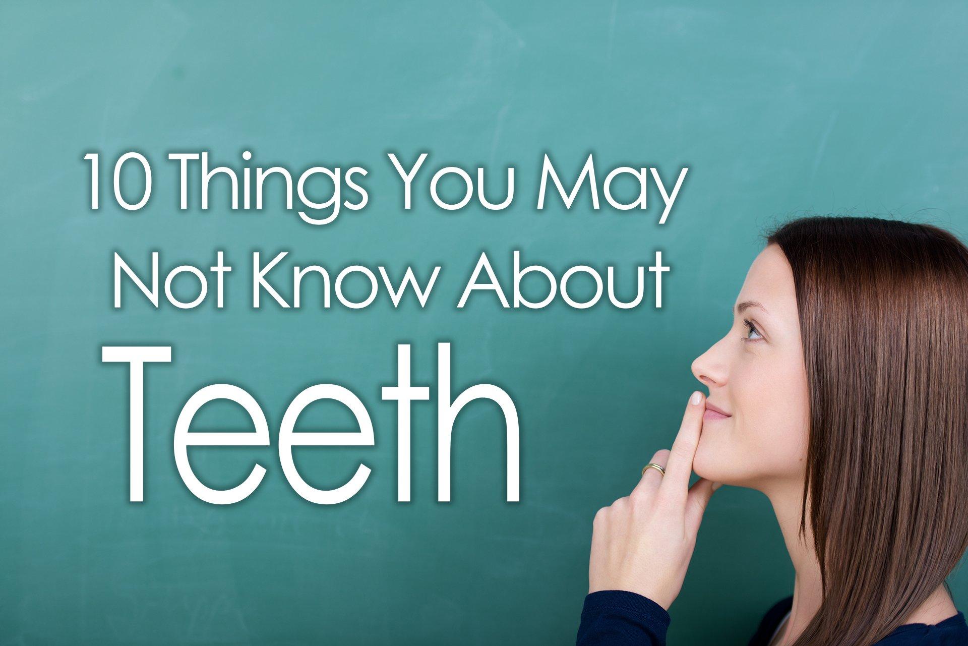 10 dental facts